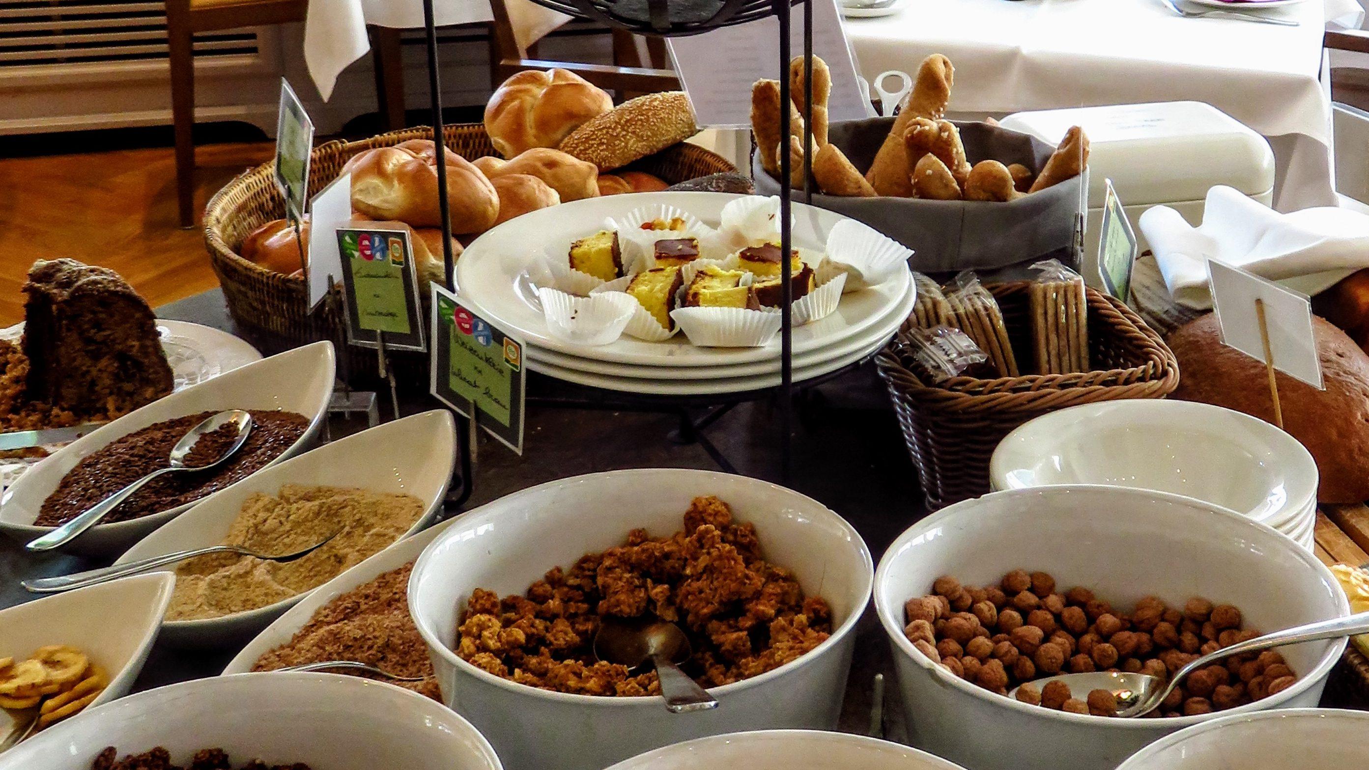 Frühstück im Hotel & Villa Auersperg